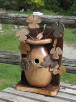 flowerpot birdhouse
