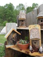 more birdhouses