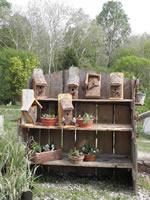 various birdhouses